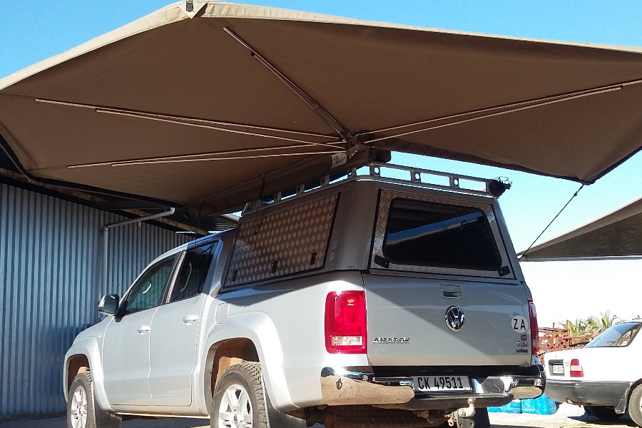 Wing Awning